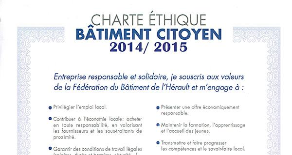 confort climat signataire de la charte éthique citoyenne de la fédération française du bâtiment
